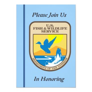Fish and Wildlife Service Retirement Invitation