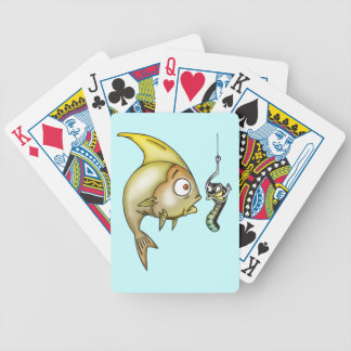 Fish and Worm Playing Cards