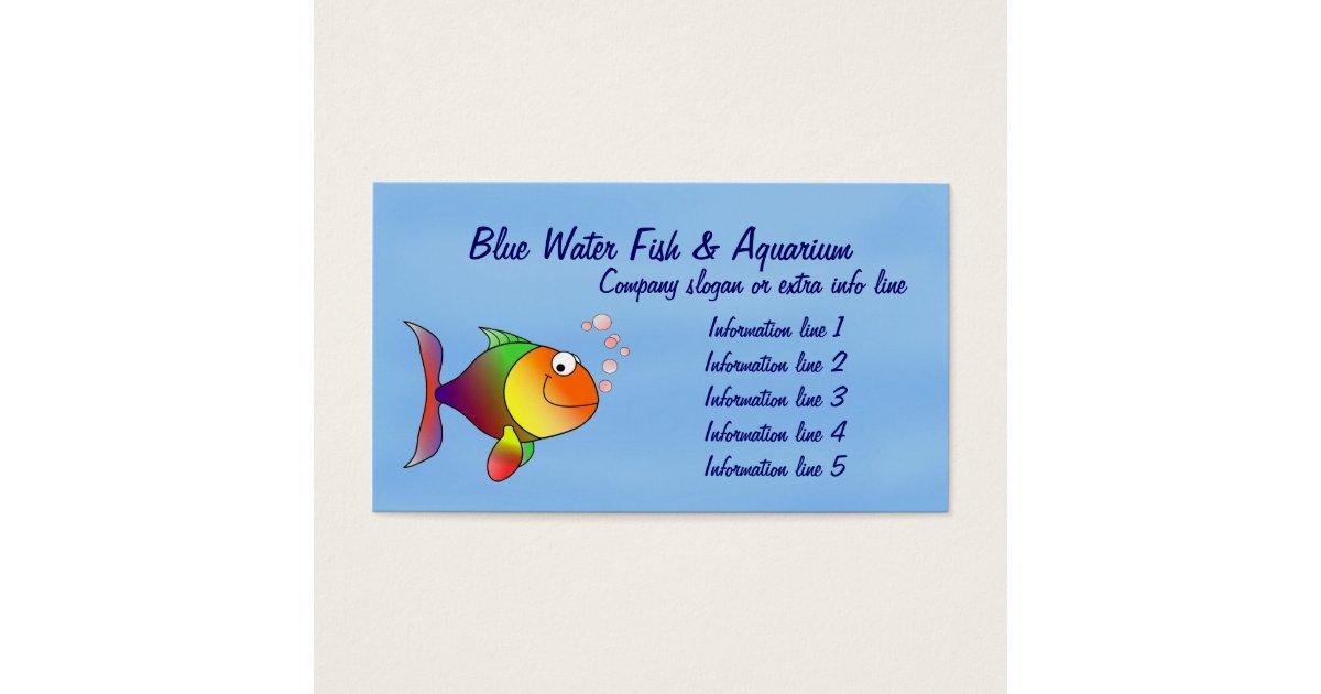 Aquarium Business Cards & Templates | Zazzle