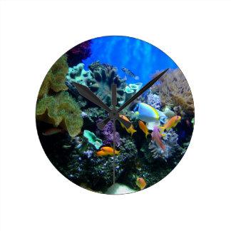 Fish Aquarium Clock