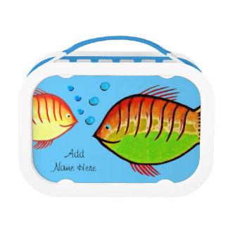 Fish Aquarium Lunch Box