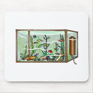 Fish Aquarium Mousepads