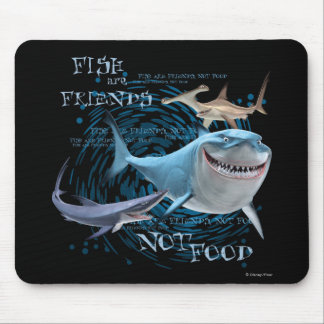 Fish are Friends Mouse Pad