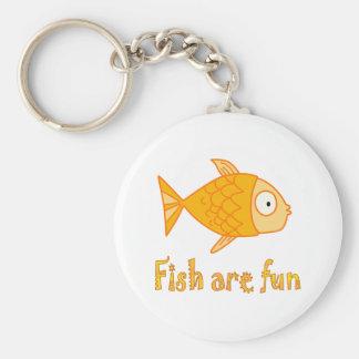 Fish are Fun Keychain