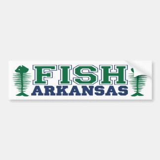 Fish Arkansas Bumper Sticker