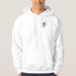 Fish Art Men's Basic Hooded Sweatshirt