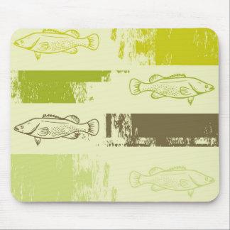 Fish Art Mouse Pad