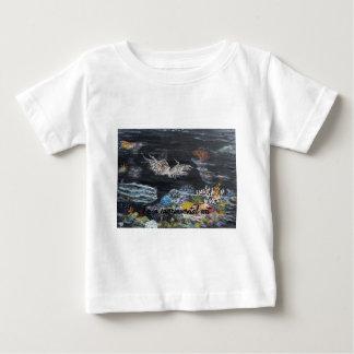 Fish art on baby T-Shirt