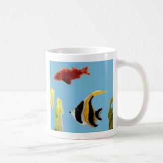 Fish Art swimming in the sea Coffee Mug