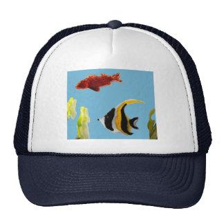 Fish Art swimming in the sea Trucker Hat