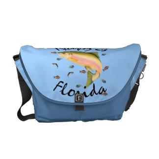 Fish assorted Naples Souvenier Rickshaw Messenger Commuter Bags