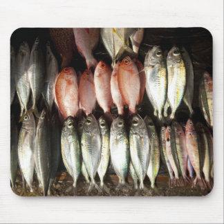 Fish at market, town of Kalabahi, Alor Island, 2 Mouse Pad