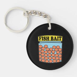 Fish Bait Keychain