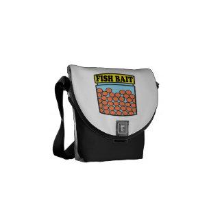 Fish Bait Messenger Bags