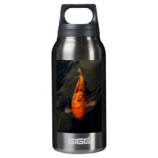 Fish - Big fish little pond Insulated Water Bottle
