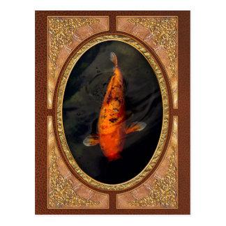 Fish - Big fish little pond Postcard