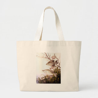 Fish / Black Crappie and White Crappie Large Tote Bag