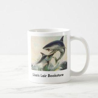 Fish - Black Marlin & Mako Shark Bookstore Promo Coffee Mug