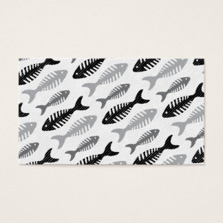 Fish Bone - Seafood on the Menu Business Card