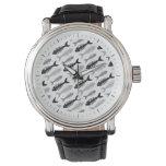 Fish Bone - Seafood on the Menu Wrist Watches