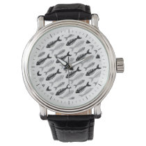 Fish Bone - Seafood on the Menu Wristwatch
