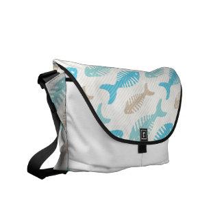 Fish Bone Soup Courier Bag