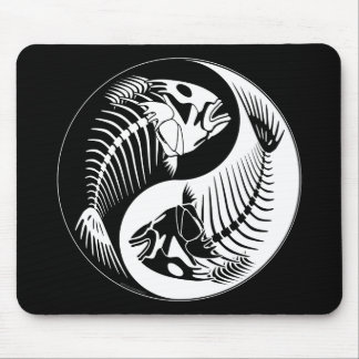 Fish Bone Yang Mouse Pad
