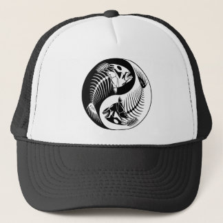 Fish Bone Yang Trucker Hat