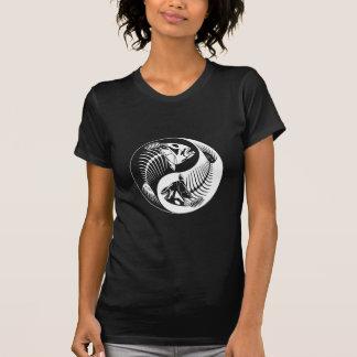 Fish Bone Yang (white) T-shirt