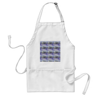 Fish Bones Adult Apron