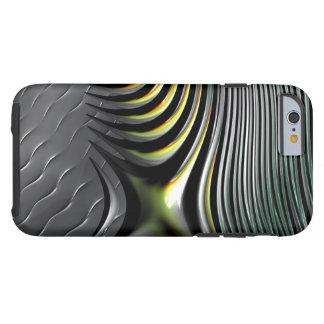 Fish bones in motor oil tough iPhone 6 case