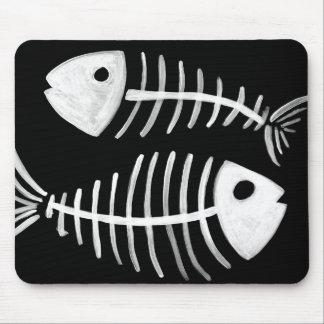 Fish Bones Mousepad