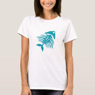 Fish Bones Skeleton T-Shirt