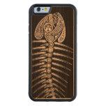 Fish Bones Skeleton Carved® Cherry iPhone 6 Bumper Case