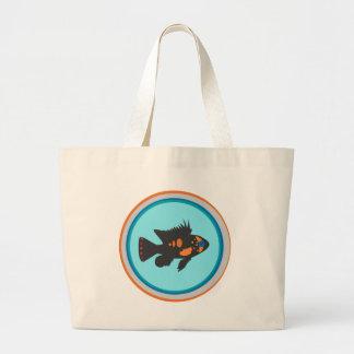 Fish Bowl Jumbo Tote Bag
