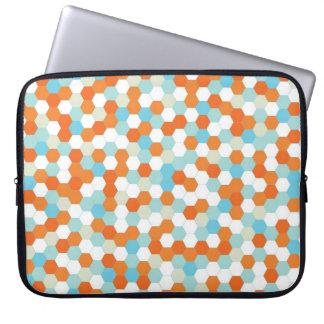 Fish Bowl Honeycomb Pattern Computer Sleeve