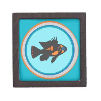 Fish Bowl Keepsake Box