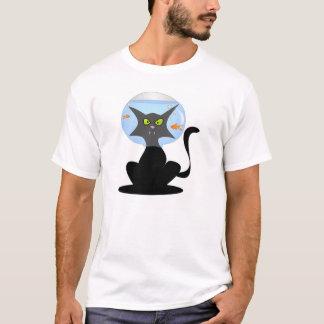 Fish Bowl Kitty T-Shirt