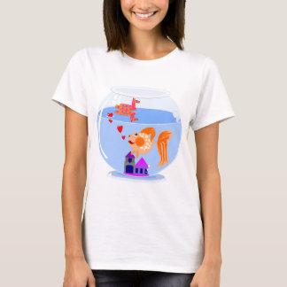 Fish bowl love.jpg T-Shirt