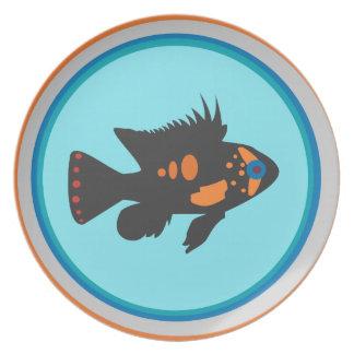 Fish Bowl Plate
