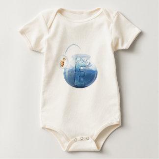 Fish Bowl Water Apparel Baby Bodysuit