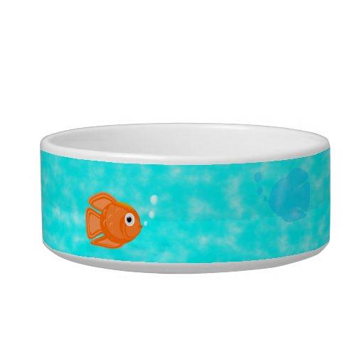 Fish Bowl Water Dish Cat Food Bowls Zazzle