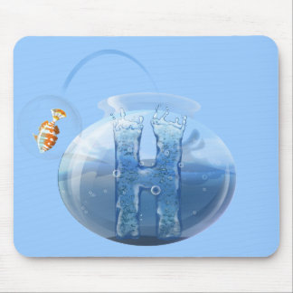 Fish Bowl Water Products Mouse Pad