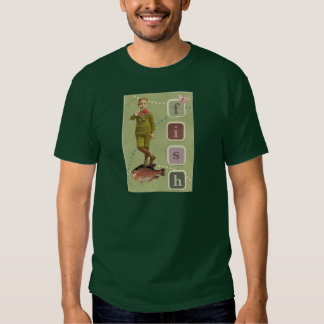 FISH Boy Vintage Collage T-shirt
