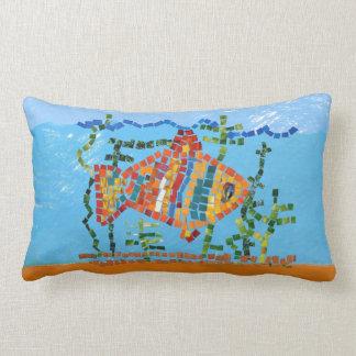 Fish Bright Lumbar Pillow