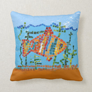 Fish Bright Throw Pillow