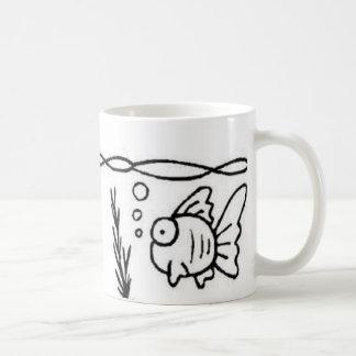 fish bubble mug