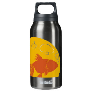 Fish Bulb Insulated Water Bottle