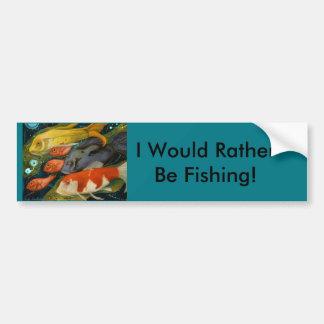 Fish Bumper Sticker