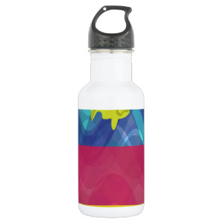 fish bus stainless steel water bottle
